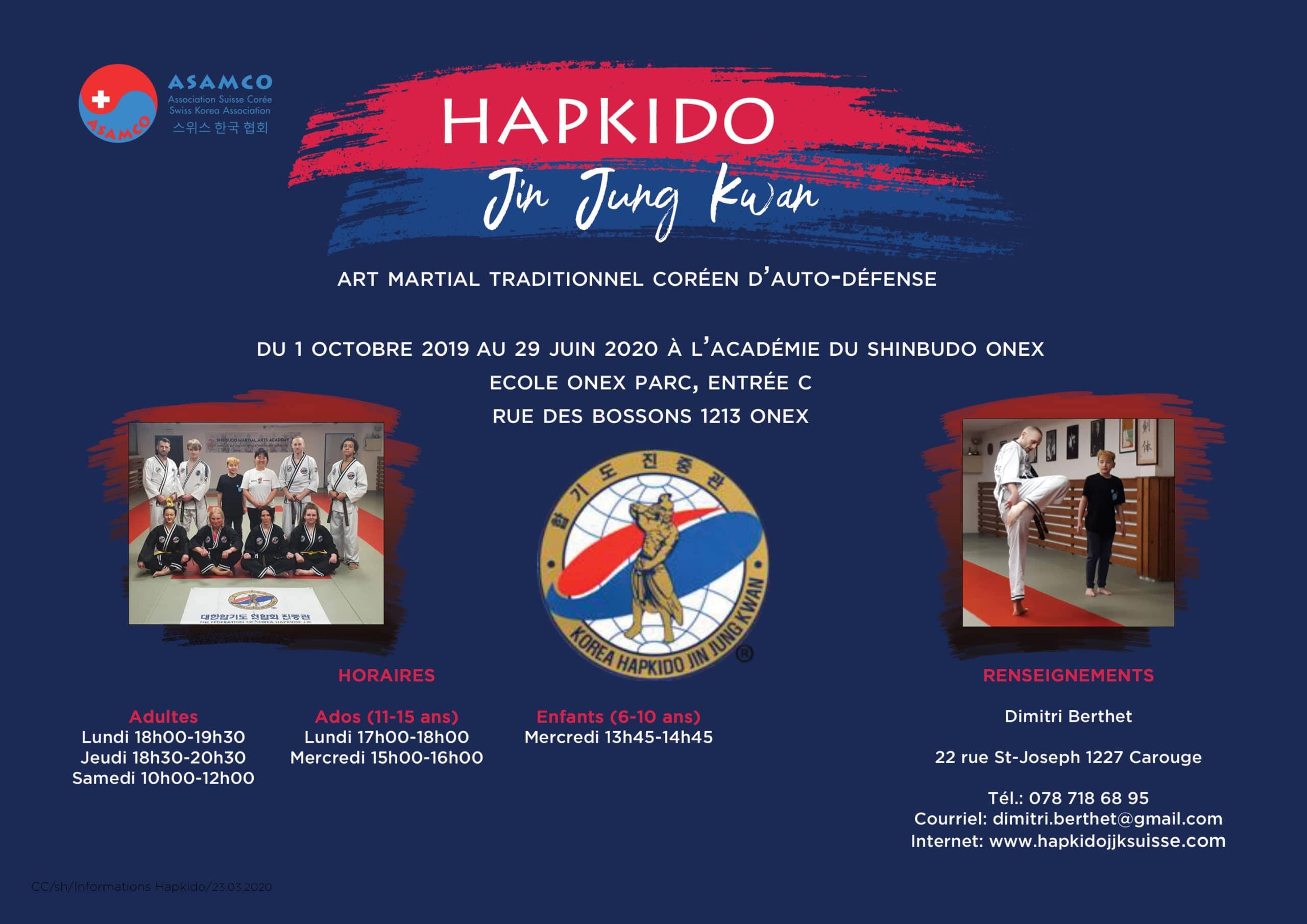 Affiche Hapkido